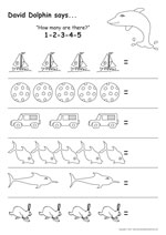 4 to 5 Year Old Workbooks Content